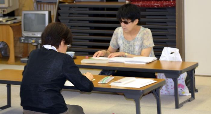 点字教室の写真